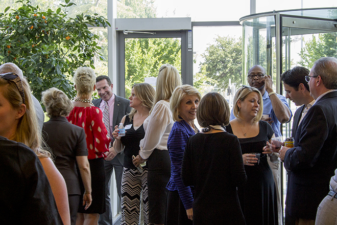 Networking at Chamber Events