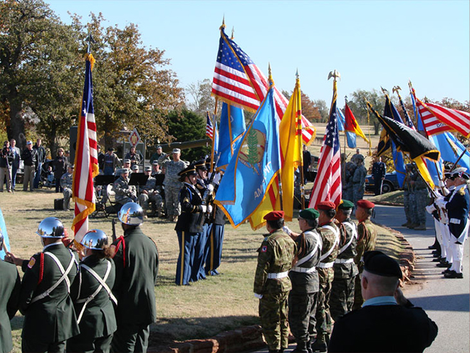 45th Infantry Division Museum Veteran\'s Day Ceremony