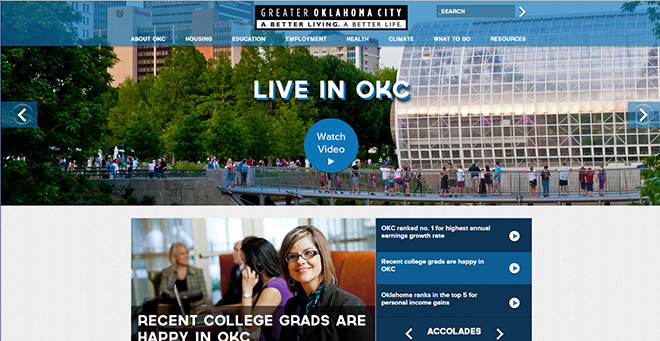 A Better Life OKC homepage
