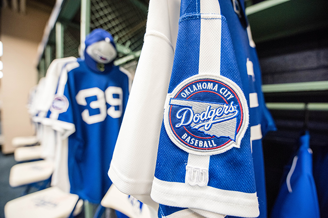 Dodgers Baseball uniforms