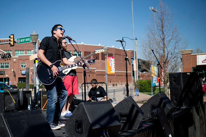 live music in Bricktown