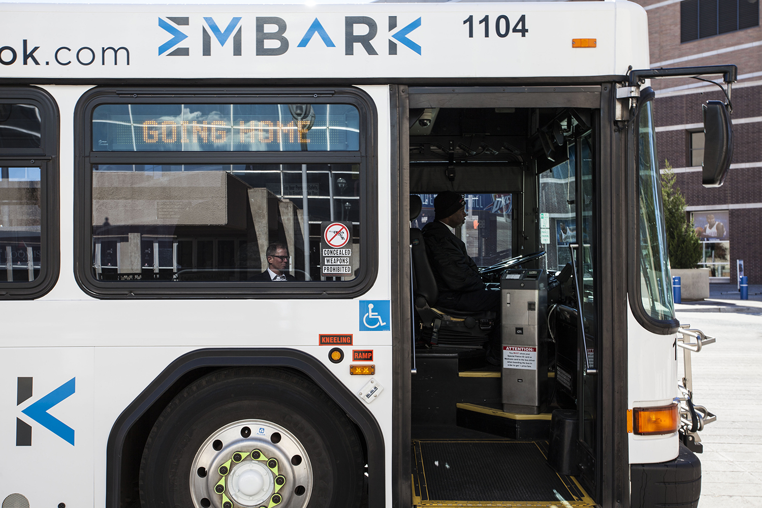 EMBARK bus