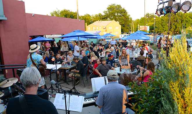 First Friday on the Paseo