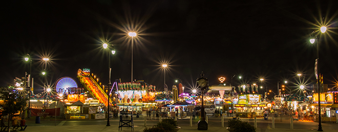 State Fair at Night
