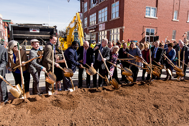 Streetcar Ground Breaking