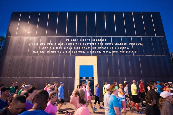 OKC National Memorial and Marathon Runners