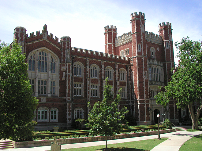 OU Campus in Norman