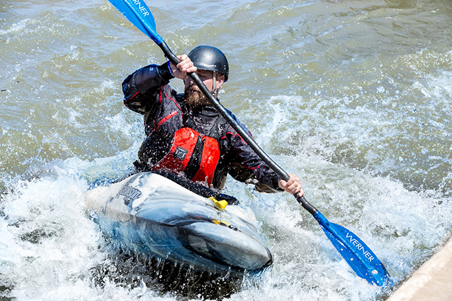 Riversport Rapids Kayaking