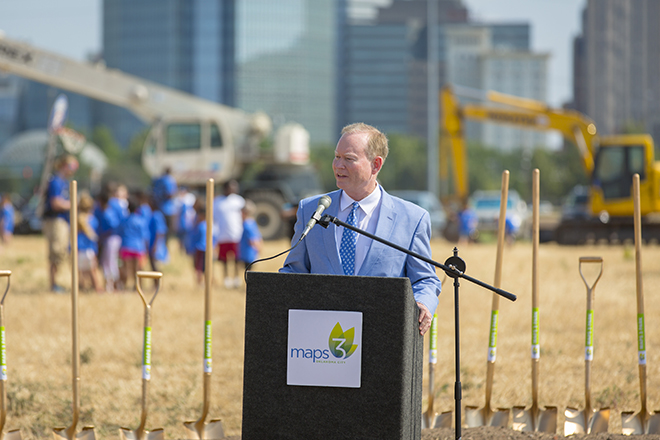 Scissortail Park Groundbreaking