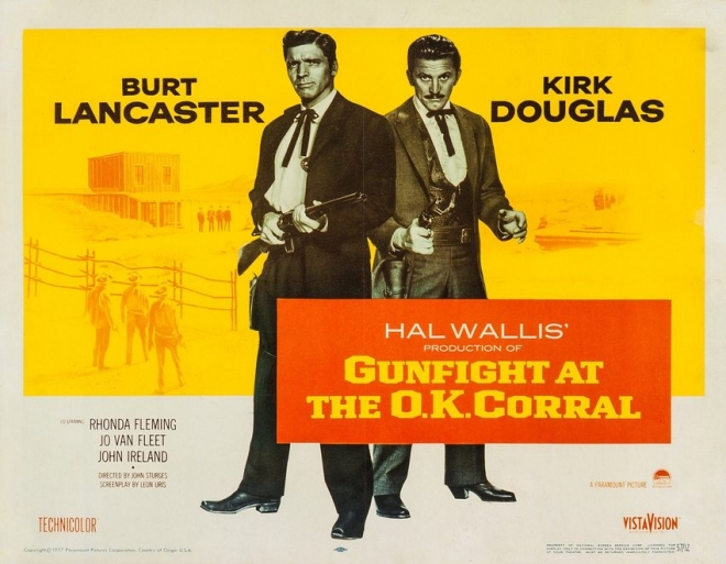 Gunfight at the O.K. Corrall poster