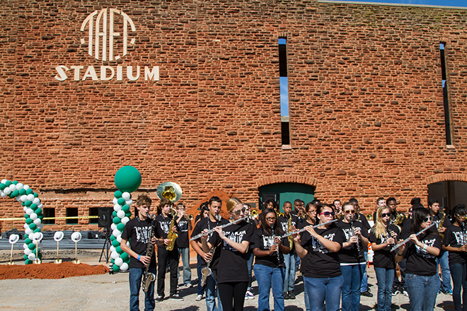 High school pep band