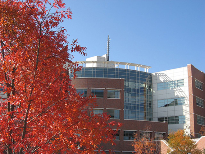 weather center in the fall